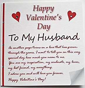 love letter to my husband handmade s card a letter to my husband 23491 | 51B98e3o48L. SY300