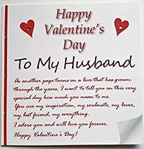 Handmade Valentine's Card - A love letter to my husband ...