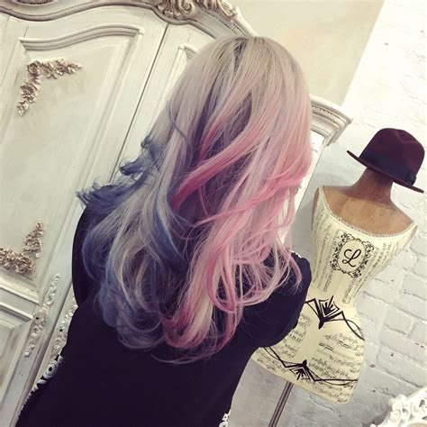 Purple Red And Pink Ombre Hair Color Hair Colors Ideas