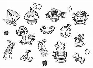 alice in wonderland tumblr illustration - Google Search