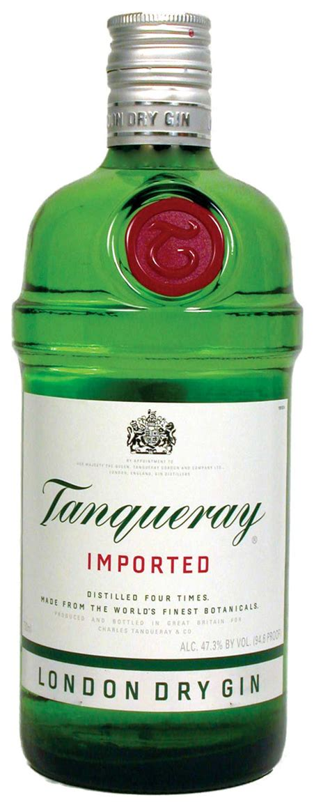 brands of gin tanqueray london dry gin