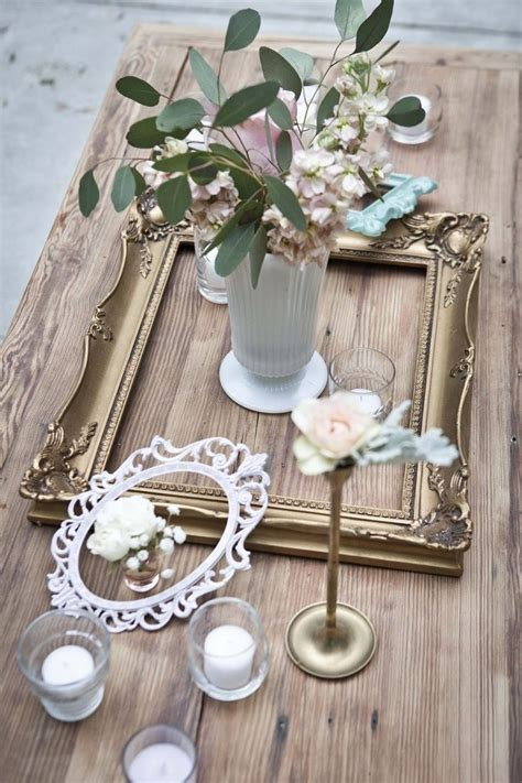 shabby chic table centerpieces shabby chic centerpieces shabby chic wedding pinterest