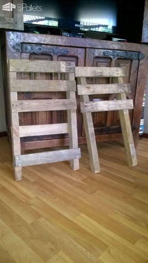 chaise emboitable en palette stackable pallet chair
