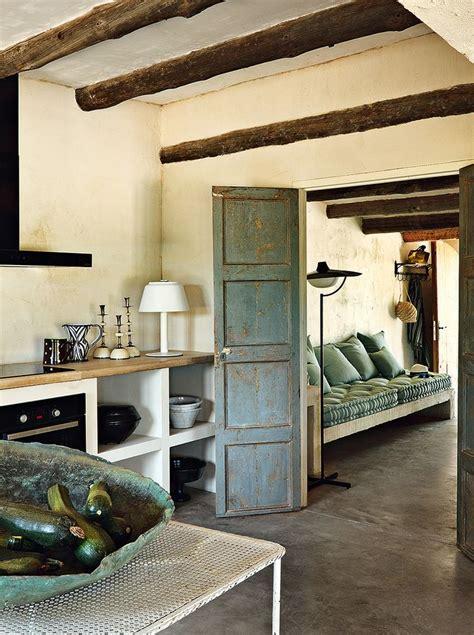 rustikalni venkovske bydleni styl  interier
