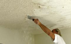popcorn ceiling removal   drywall man