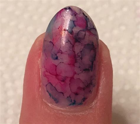 diy sharpie marble nails la james international college