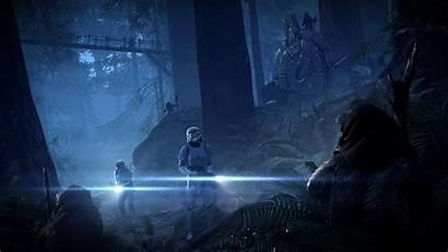 Battlefront Ii Ewok Wars Star Endor Mode