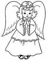 Angel Pages Coloring Printable Angels Colouring Sheets Sheet Christmas Engel Printables Colorful Embroidery Preschool Child sketch template