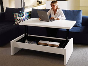 bureau relevable table transformable en bureau