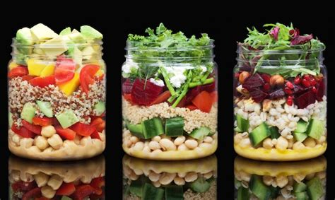 Salad In A Jar In Dubai