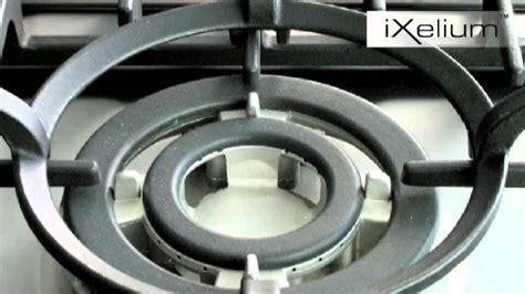 piani cottura professionali da incasso whirlpool acciaio ixelium per piani cottura da incasso
