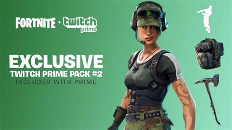 fortnite twitch prime pack  release incoming