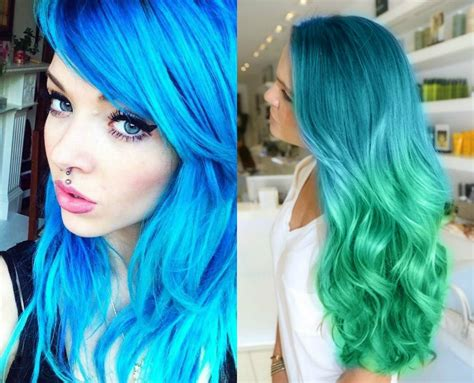 Hair Colors For With Green by Neon Hair Colors You Should Try Once Hairdrome