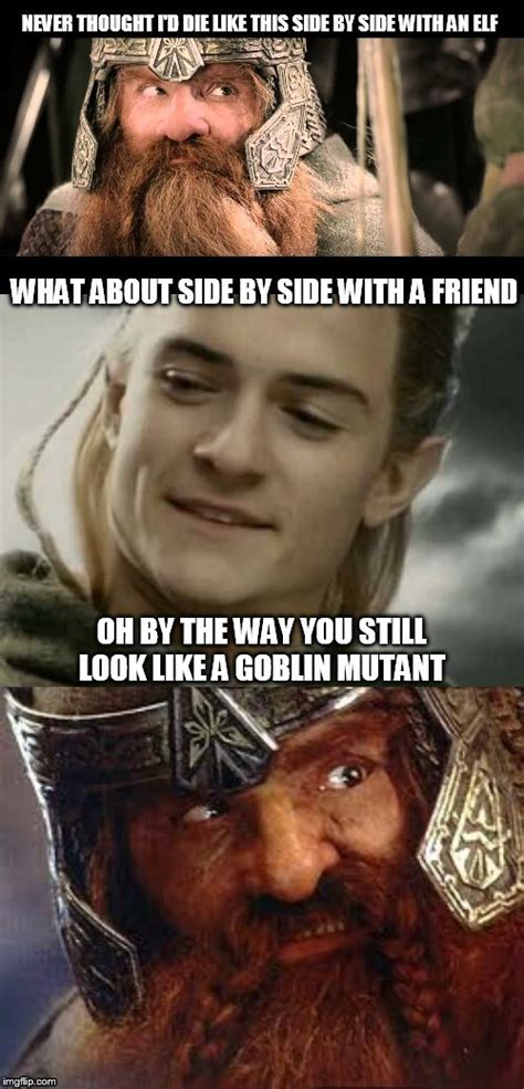 Lotr Meme Generator - never thought i d die like this imgflip