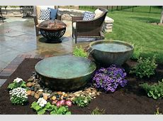 Disappearing Fountain Basin Outdoor Great Home Decor