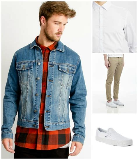 4 Seasonal Outfits to Wear With a Denim Jacket   The Idle Man