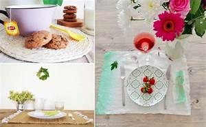 Sets De Table Originaux : diy 10 id es de sets de table faire soi m me des id es ~ Voncanada.com Idées de Décoration