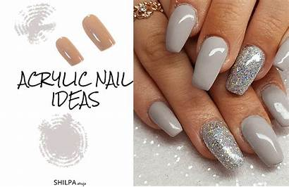 Nail Acrylic Designs Nails Fake Latest Different