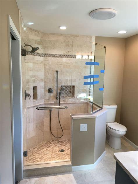 neo angle glass showers ad glass mirror