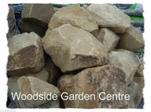 decorative large yorkstone garden rocks stones ebay