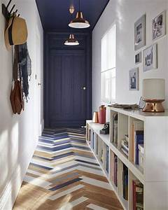 idee deco entree couloir meilleures images d39inspiration With wonderful idee couleur couloir entree 12 deco du couloir en l sol sombre