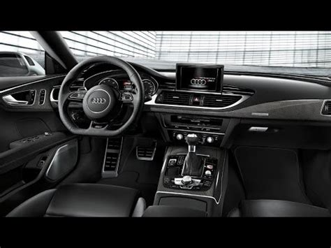 audi  audi rs interior youtube