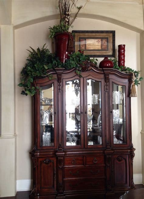 Cabinet Decoration Ideas - 7 best images about china cabinet on
