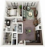 One Bedroom Studio Apartments by Best 25 One Bedroom Apartments Ideas On Pinterest