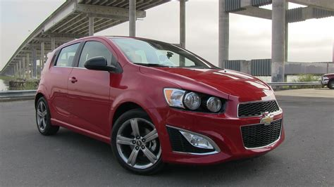 2013 Chevrolet Sonic Rs First Drive Review & 060 Mph Test