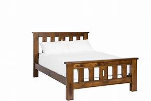 homestead slat bed king furniture zone With homestead furniture nz