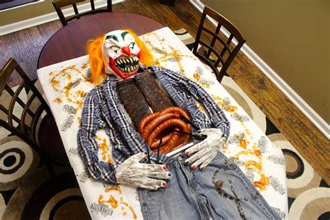 bbq pork ribs  polish sausage halloween food set
