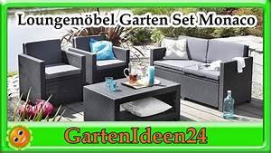 Lounge Set Garten : lounge set garten monaco gartenidee loungem bel aus ~ A.2002-acura-tl-radio.info Haus und Dekorationen