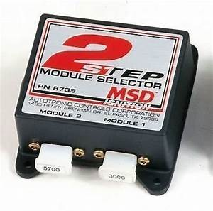 Msd Ignition Msd8739 2 Step High Rev And Start Line Rev