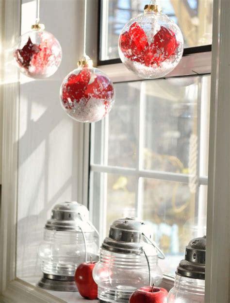 fensterbank deko ideen fuer innen zu weihnachten