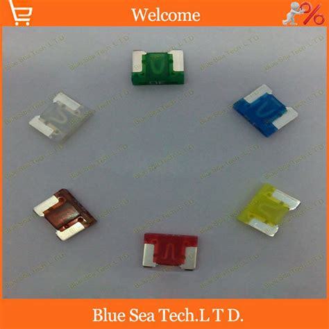 6 Models 12pcs 7.5a To 30a Original Mini Type Auto Fuse