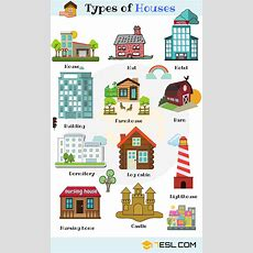Different Types Of Houses List Of House Types With Pictures  7 E S L