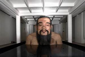 Q, Confucius, Exhibition, By, Zhang, Huan, Opens, In, Shanghai