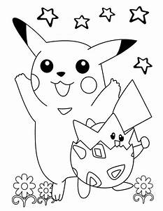 Free Pokemon Coloring Pages For Kids 2019