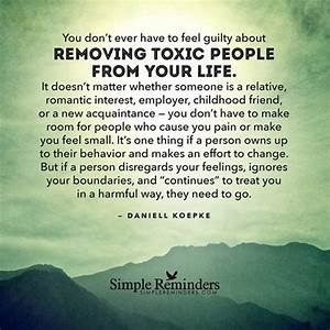 """Lesson #9 """"Remove Toxic People!"""""""
