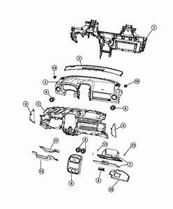 2015 Jeep Patriot Dampener  Glove Box Door  Panel