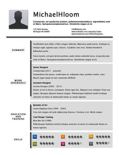 Resume Background by 49 Creative Resume Templates Unique Non Traditional Designs
