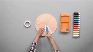 Fabriquer Une Bibliothèque Murale : fabriquer une horloge murale haute en couleur pour la cuisine youtube ~ Louise-bijoux.com Idées de Décoration
