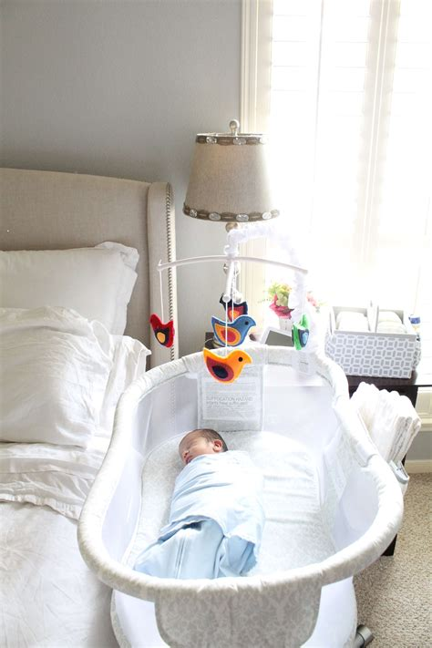 safe sleep tips  baby  bassinet  crib