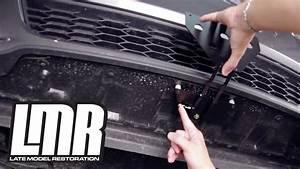 Mustang Detachable License Plate Installation - Sto N Sho  2013-14 Gt  V6