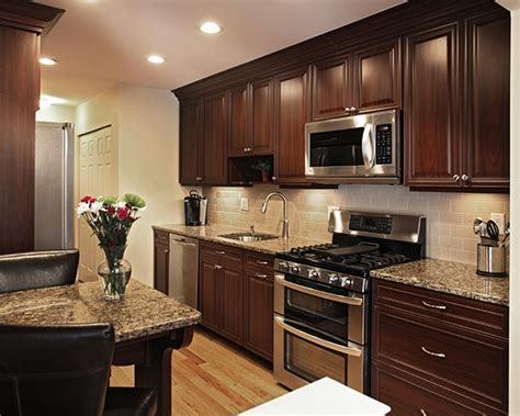 what paint color goes best with dark cabinets how to pair countertop colors with dark cabinets