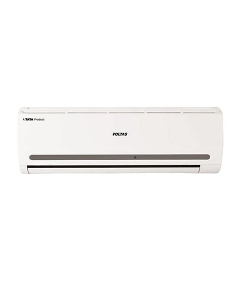 voltas 1 2 ton 2 152 cy split air conditioner with copper condensor and copper piping price