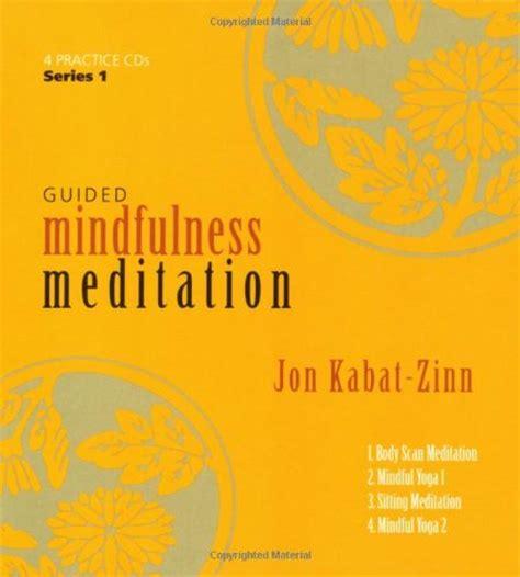 meditation books mindfulness beginners guided kabat zinn jon program complete