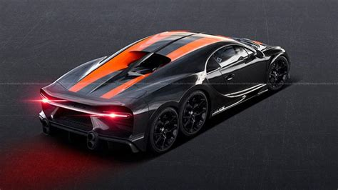 Most shops offer some version of a basic tune up that includes the same services, more or less. Images of the six-wheeled Bugatti Chiron appeared on the Internet
