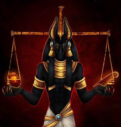 Egyptian Anubis God Mythology Pleasure Guilty Wanting