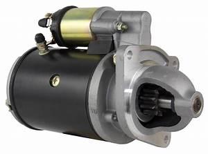 New Starter Motor Ford Backhoe 555a 555b 555c 650 6500